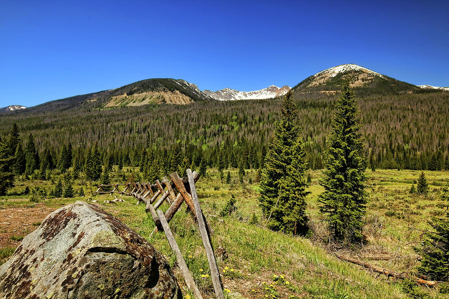 Rocky Mountain National Park 2 by Judy Vincent