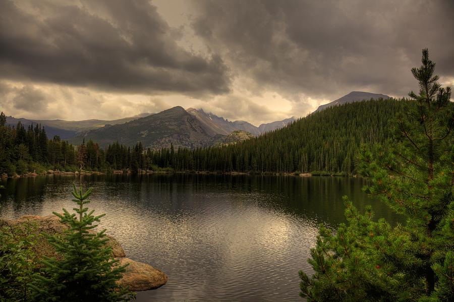 Rocky Mountains Photograph - Rocky Mountain National Park Lake by Patrick  Flynn