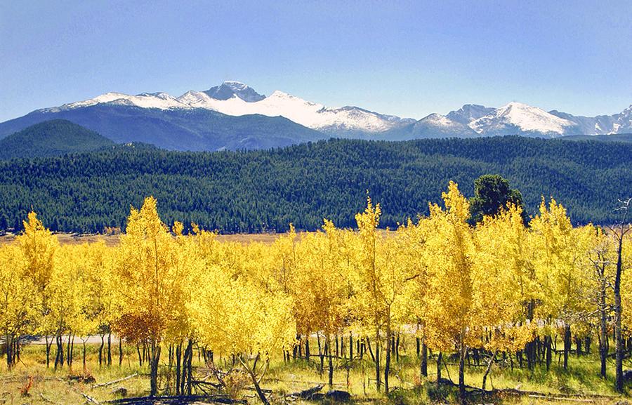 Rocky Mountain Park Colorado Photograph by James Steele