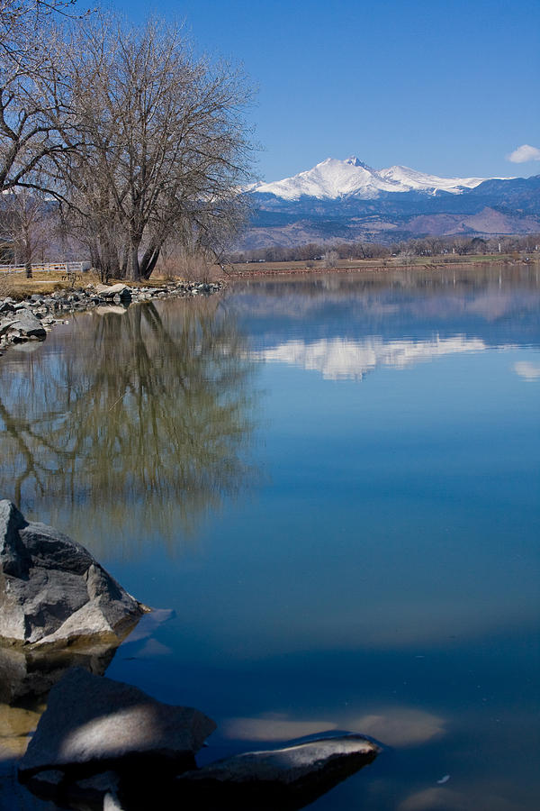 Twin Peeks Photograph - Rocky Mountain Reflections by James BO Insogna
