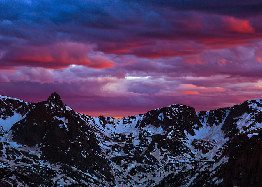 Rocky Mountain Sunset by James Menzies