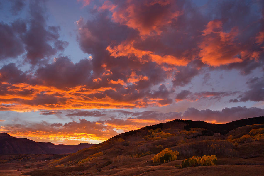 Colorado Photograph - Rocky Mountain Sunset by Jonathan Steele