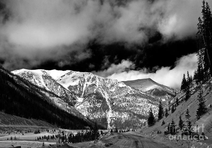 Landscape Photograph - Rocky Mountian High by John Hermann