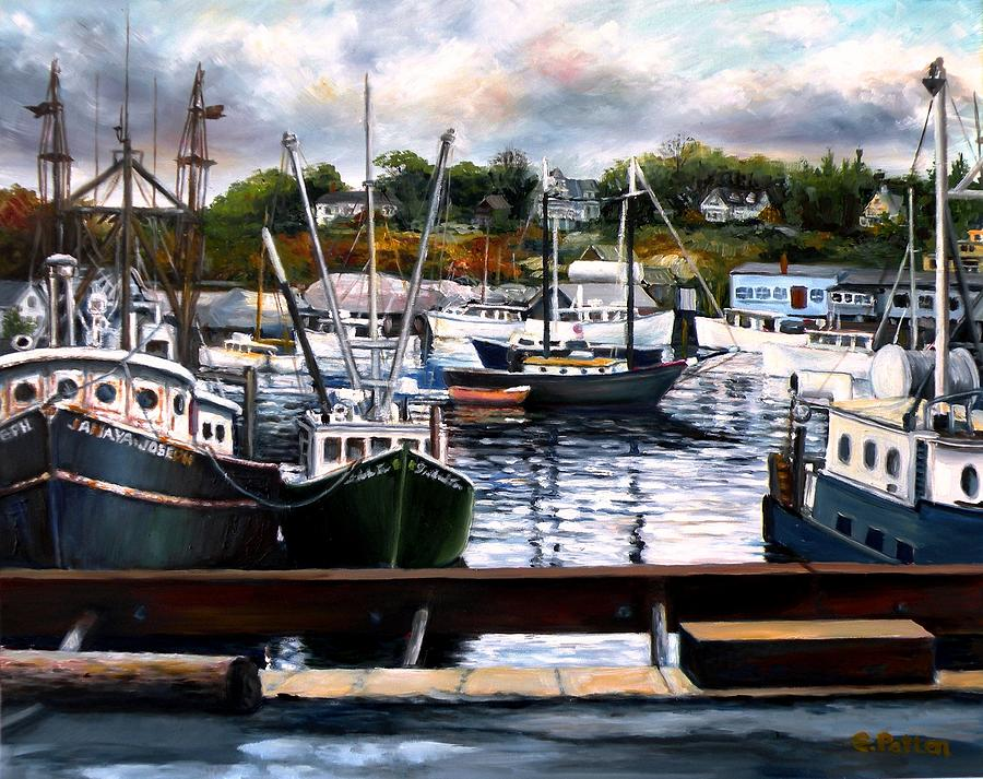 Gloucester Painting - Rocky Neck, Gloucester by Eileen Patten Oliver