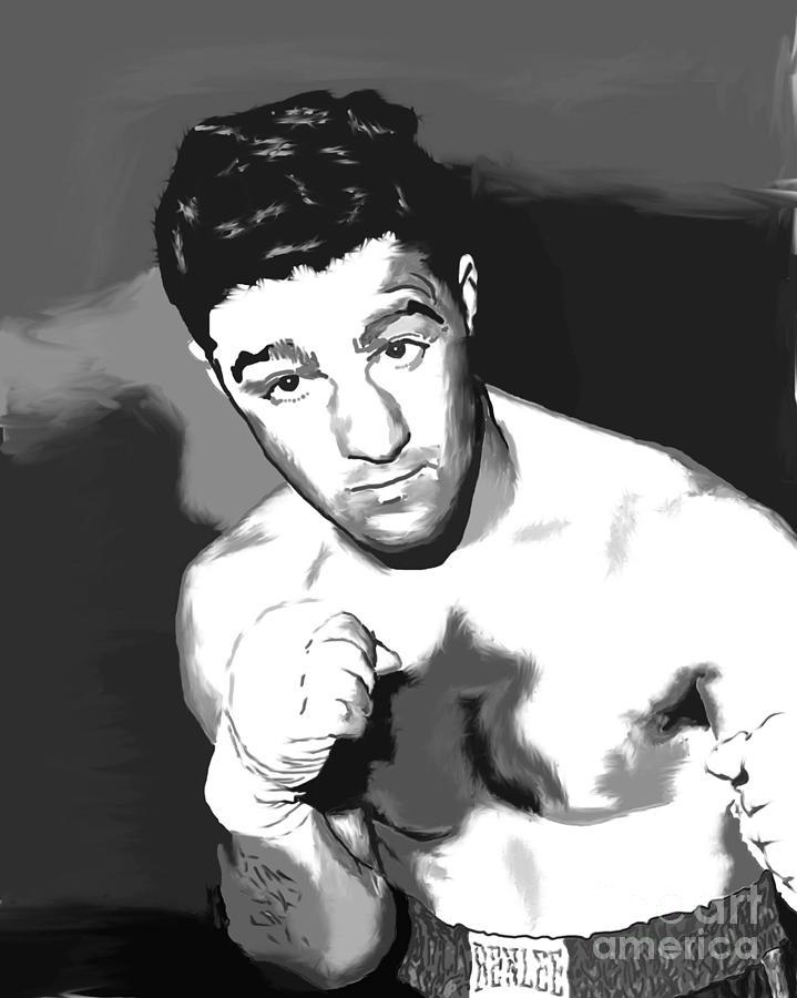 Rocky Marciano Digital Art - Rocky by Paul Maher