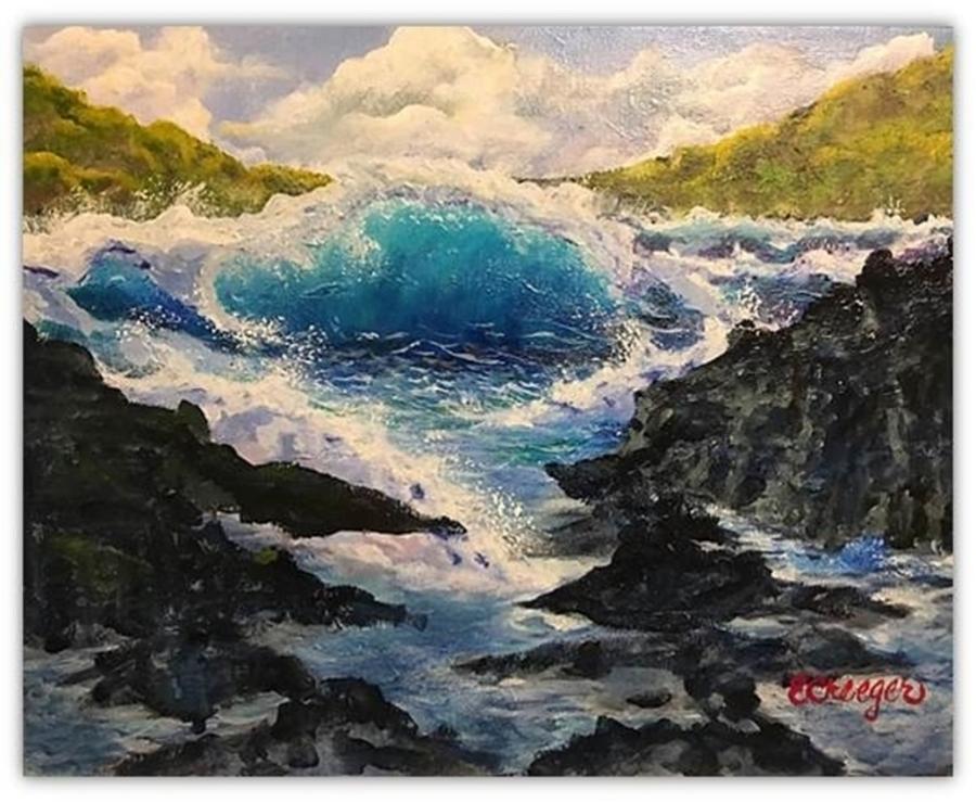 Rocky Sea by Esperanza Creeger
