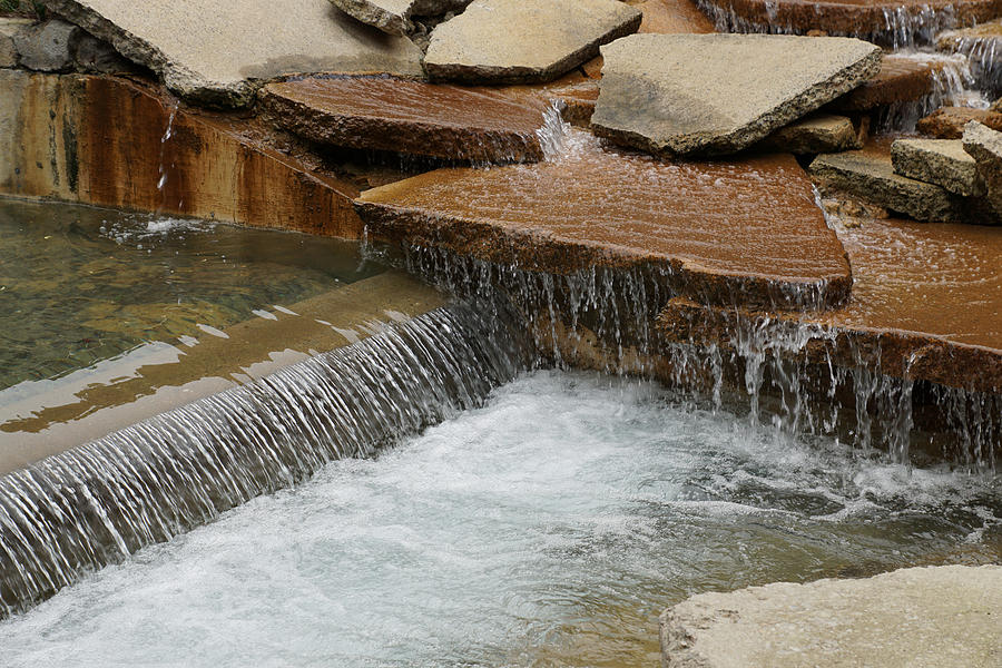 Rocks Photograph - Rocky Stream by William Hall
