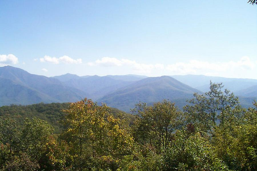 Mountains Photograph - Rocky Top Tennessee 1 by Paula Ferguson
