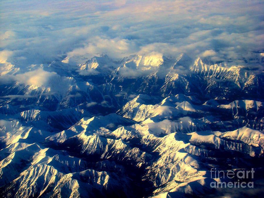 Alberta Photograph - Rocky Tops by Al Bourassa