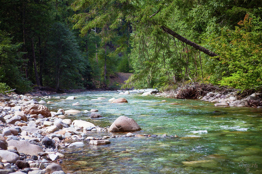 Rocky Waters In The North Cascades Landscape Photography by Omas by Omaste Witkowski