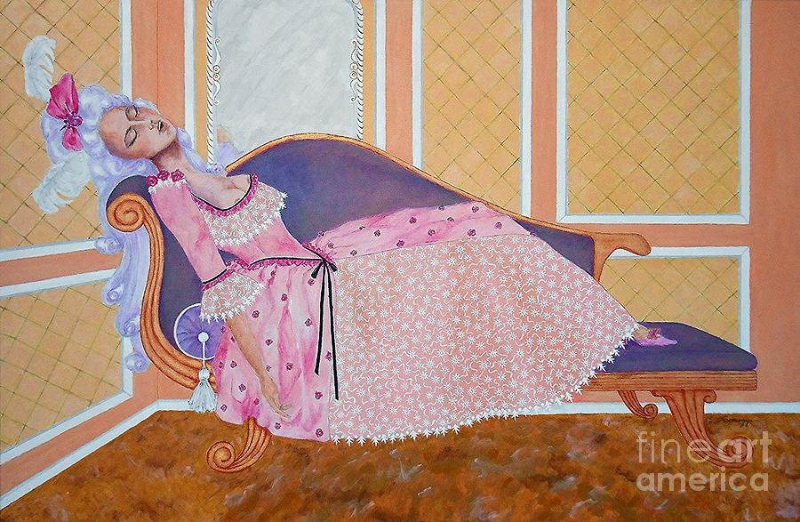 Rococo Coquette -- Mme. Pompadour, #2 in Famous Flirts Series by Jayne Somogy