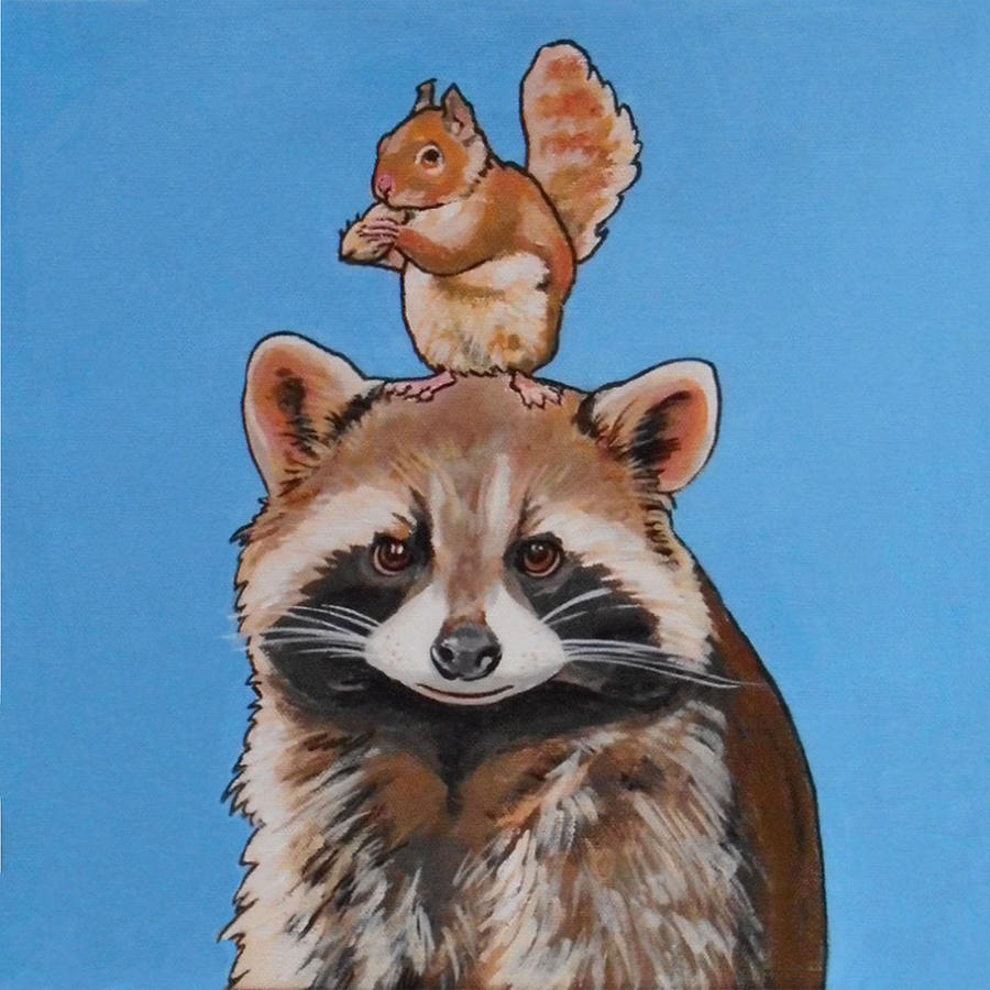 Rodney the Raccoon by Sharon Cromwell