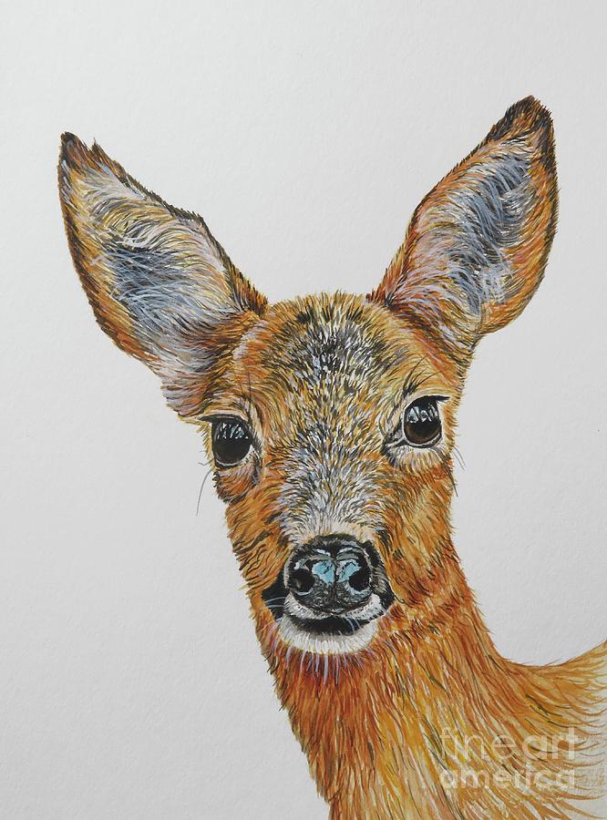 Roe Deer Painting