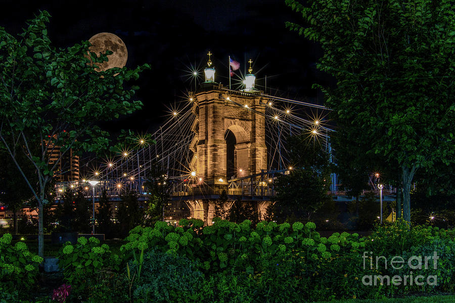 Roebling Super Moon by Jason Finkelstein