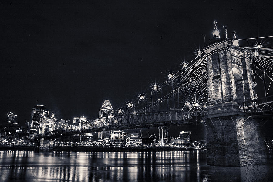 Roebling Suspension Bridge by Jason Finkelstein