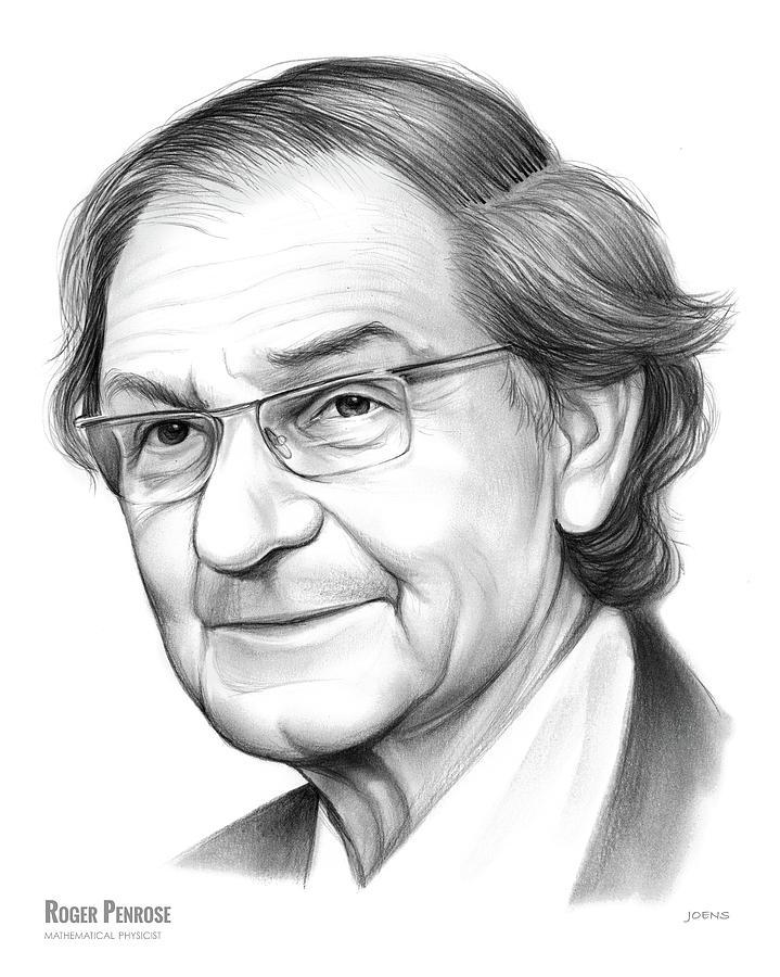 Roger Penrose Drawing