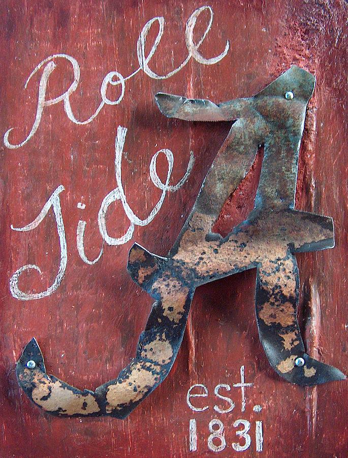 Roll Tide Mixed Media - Roll Tide by Racquel Morgan