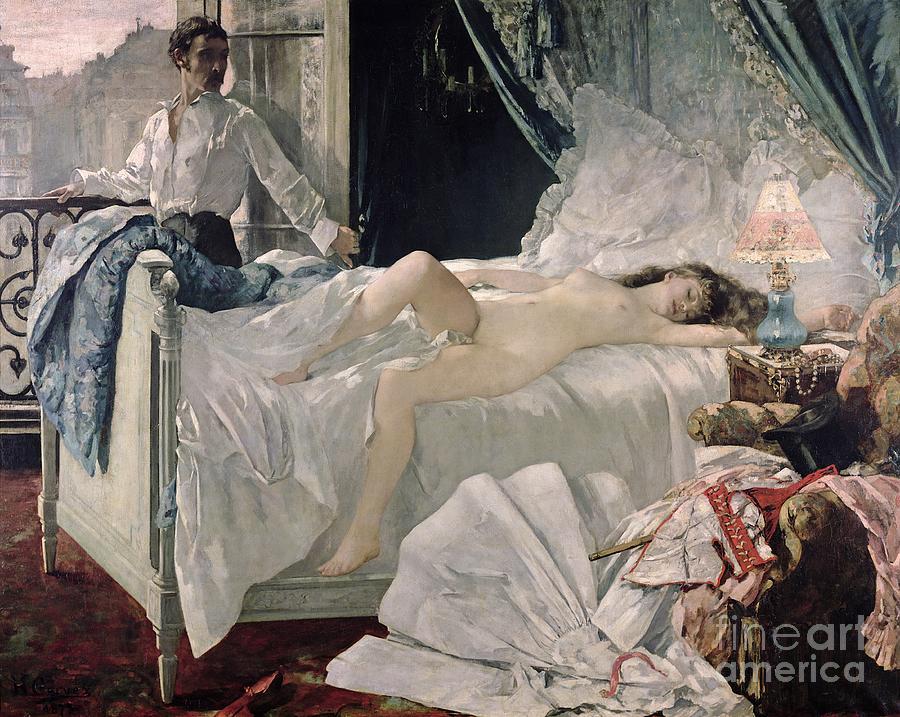 Henri Painting - Rolla by Henri Gervex