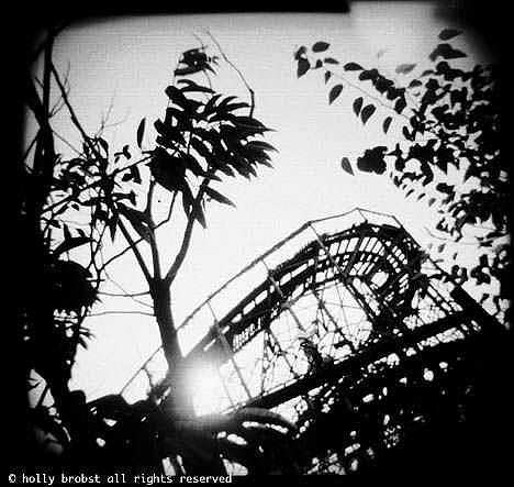 Rollercoaster Photograph - Rollercoaster by Holly Brobst
