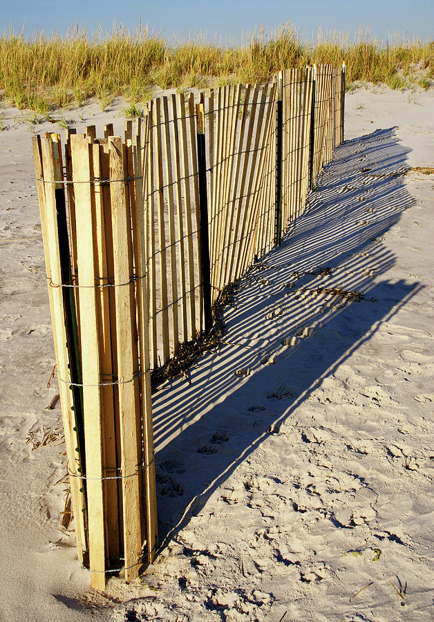 Fence Photograph - Rolling Fence by Cate Franklyn