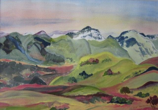 Rolling Hills by Sue Nelson