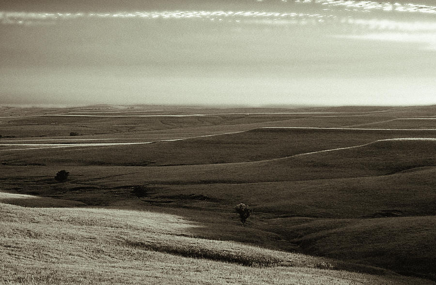 Rolling Flint Hills Photograph