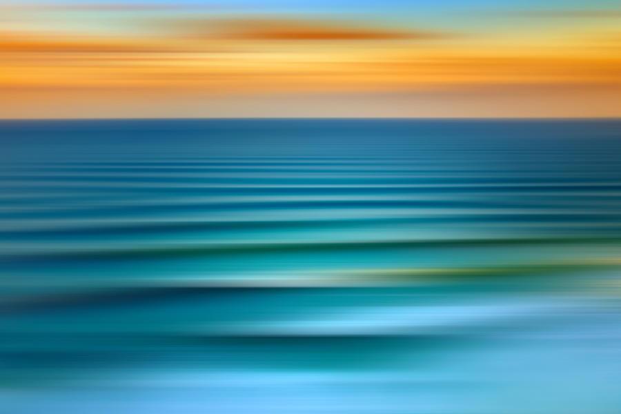 Beach Digital Art - Rolling In by Az Jackson
