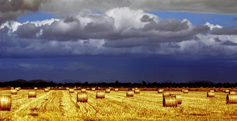 Landscape Photograph - Rolling On by Holly Kempe