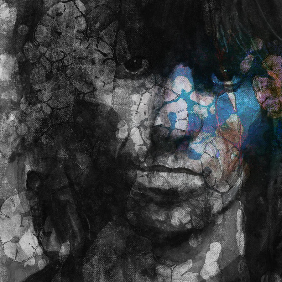 Keith Richards Painting - Rolling Stoned by Paul Lovering
