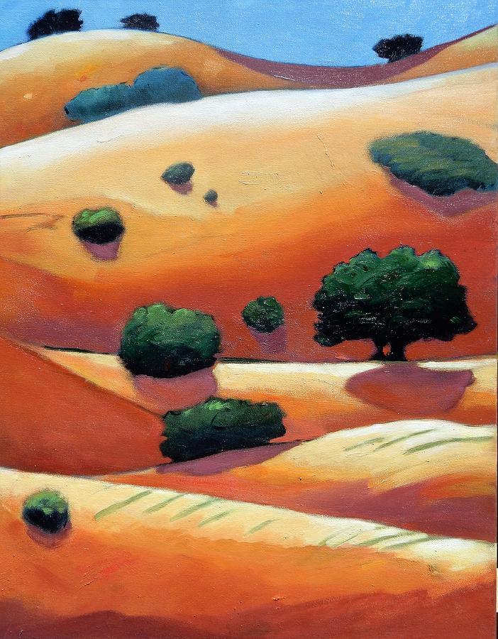 Rolling Trip Panel IIi Painting