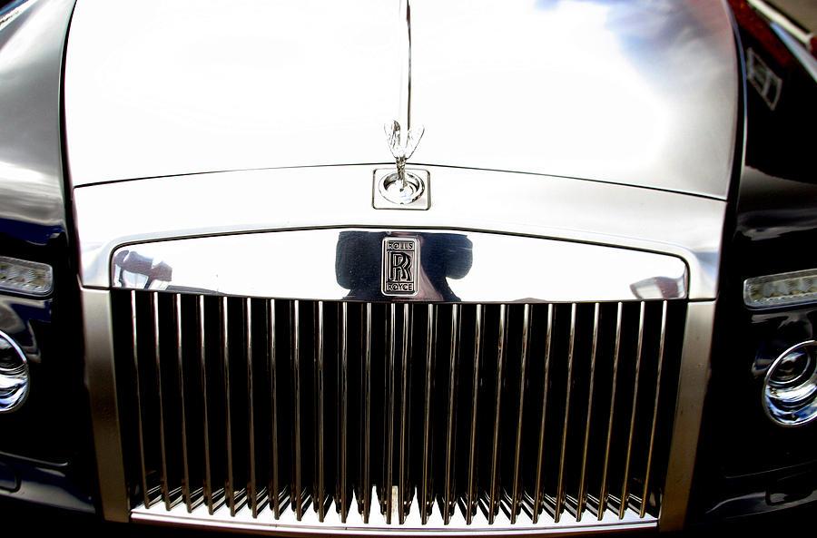 Photographer Photograph - Rolls Royce 2 by Jez C Self