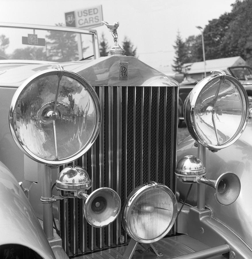 Car Photograph - Rolls Royce A1 Used Car by Richard Singleton