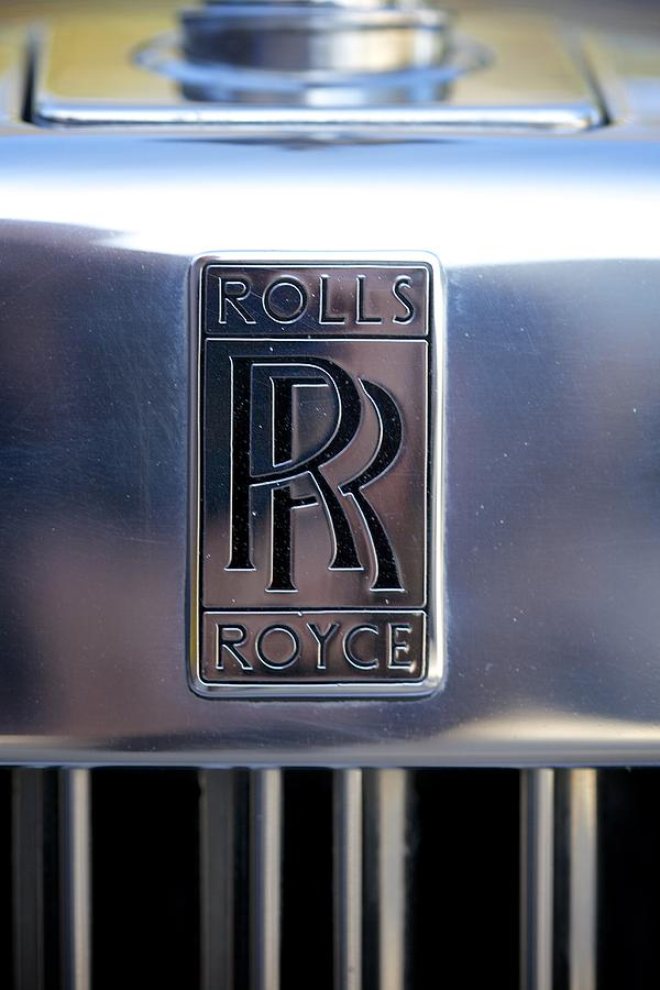 Rolls Royce Badge Photograph By Brooke Roby
