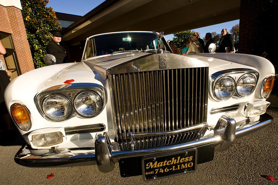 Rolls Photograph - Rolls Royce by Mark Currier