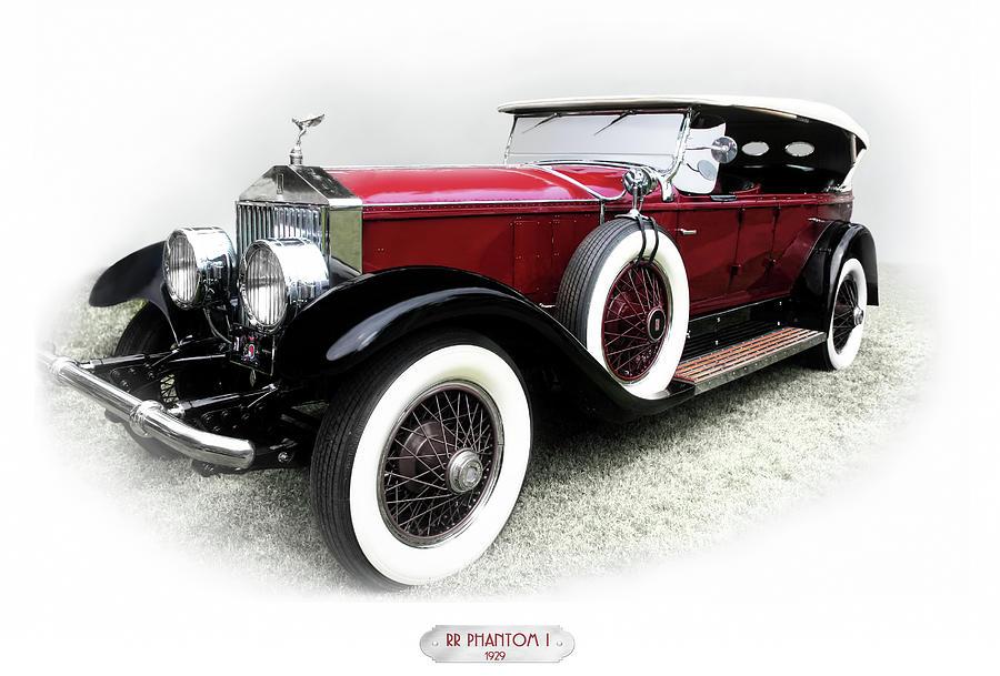 Luxury Car Photograph - Rolls-royce Phantom I 1929 by Adam Rozsa