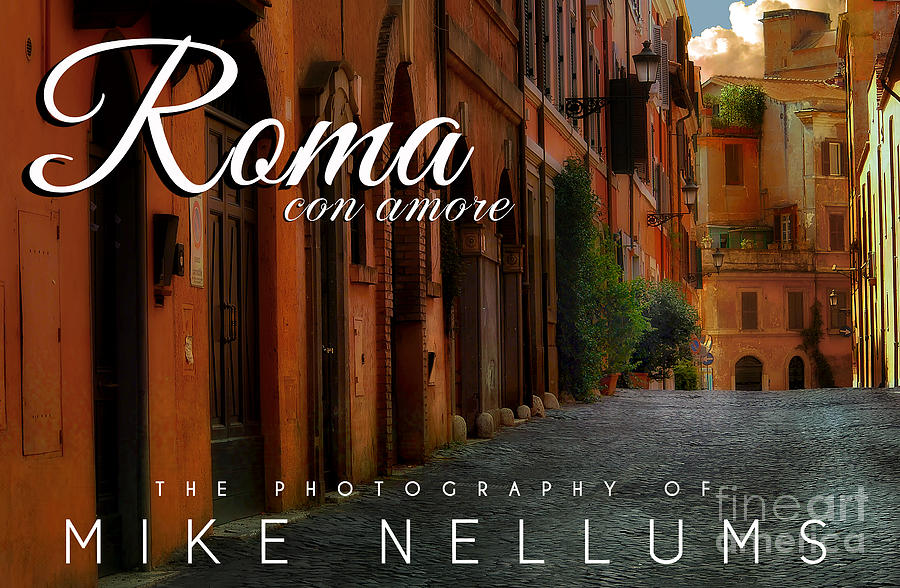 Roma Coffee Table Book Cover Photograph by Mike Nellums