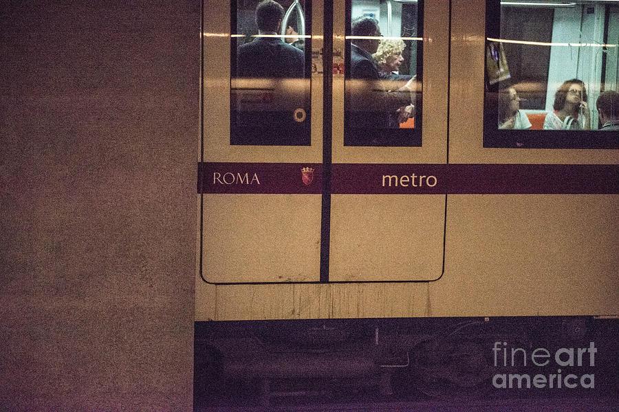 Coliseum Photograph - Roma Metro by Joseph Yarbrough