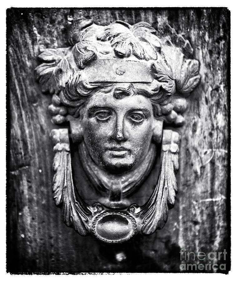 Door Photograph - Roman Door Knocker by John Rizzuto