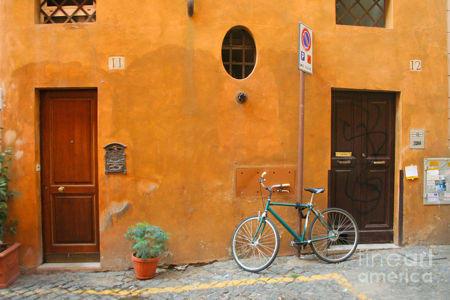 Rome Photograph - Roman Doors by Thomas Marchessault