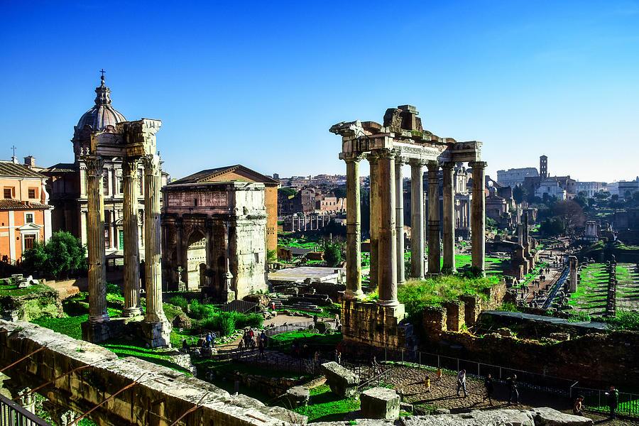 Roman Forum by Alessandro Della Pietra