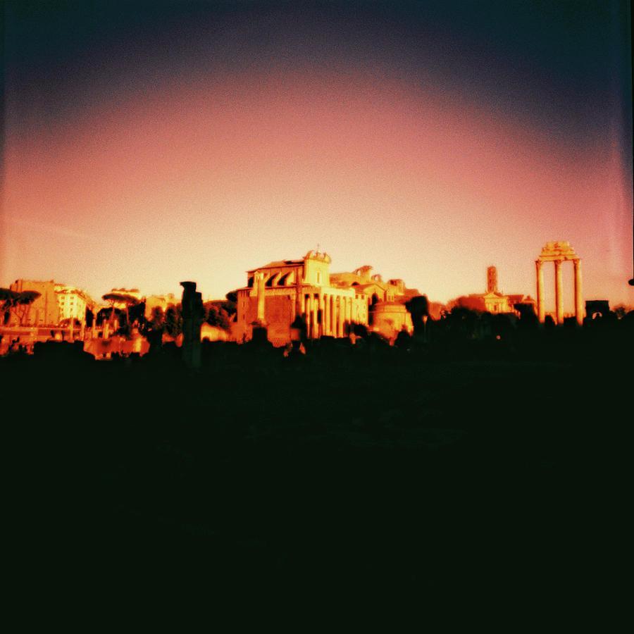 Roma Photograph - Roman Imperial Forum by Nacho Vega