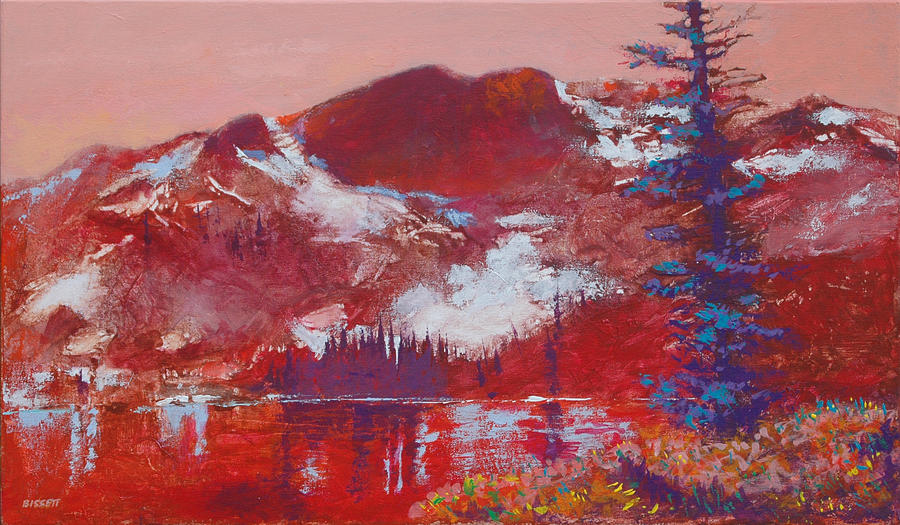 Mountain Painting - Roman Nose by Robert Bissett