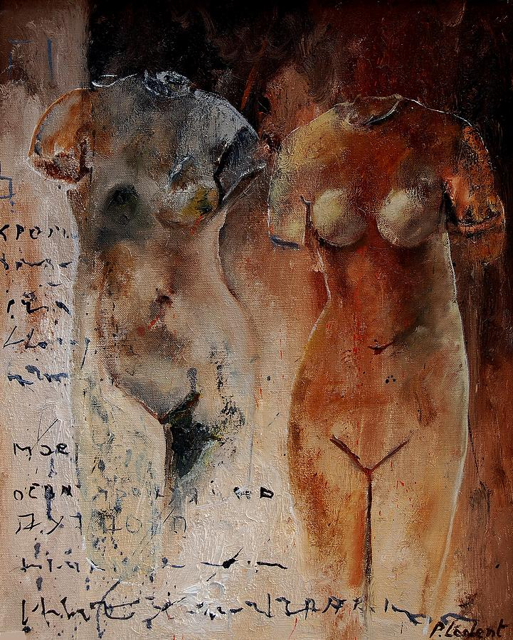 Nude Painting - Roman Nudes 45 by Pol Ledent