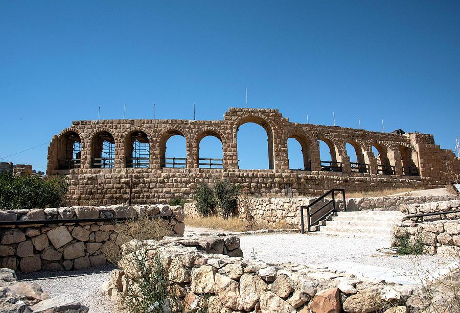 Roman Ruins Photograph - Roman Ruins by Mae Wertz