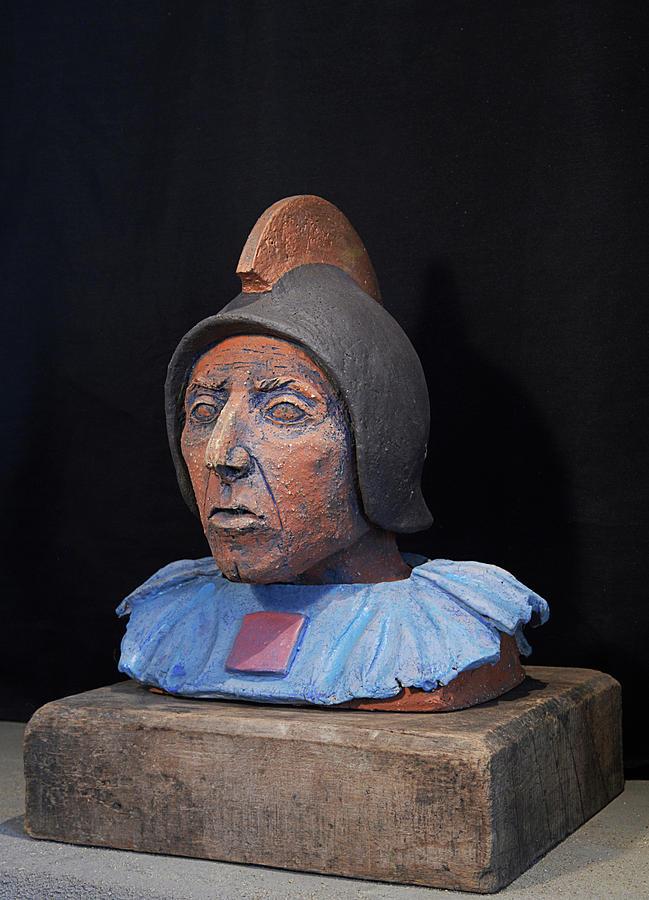 Warriors Sculpture - Roman Warrior Roemer - Roemer Nettersheim Eifel - Military Of Ancient Rome - Bust - Romeinen by Urft Valley Art