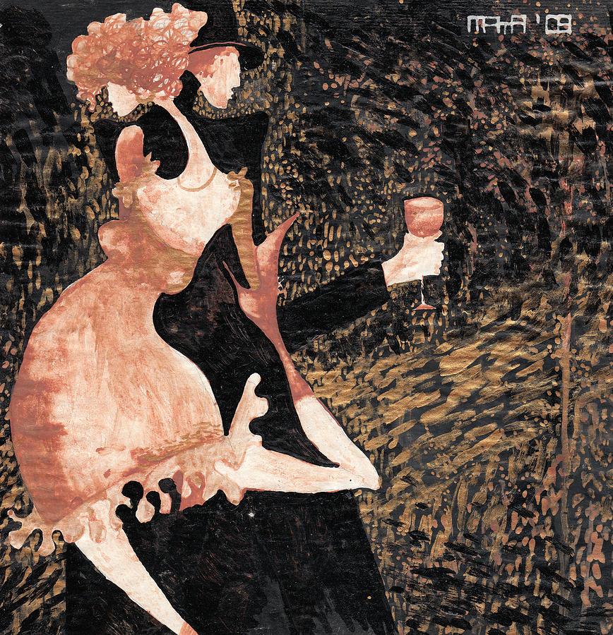 Romance Painting - Romance De Paris by Maya Manolova