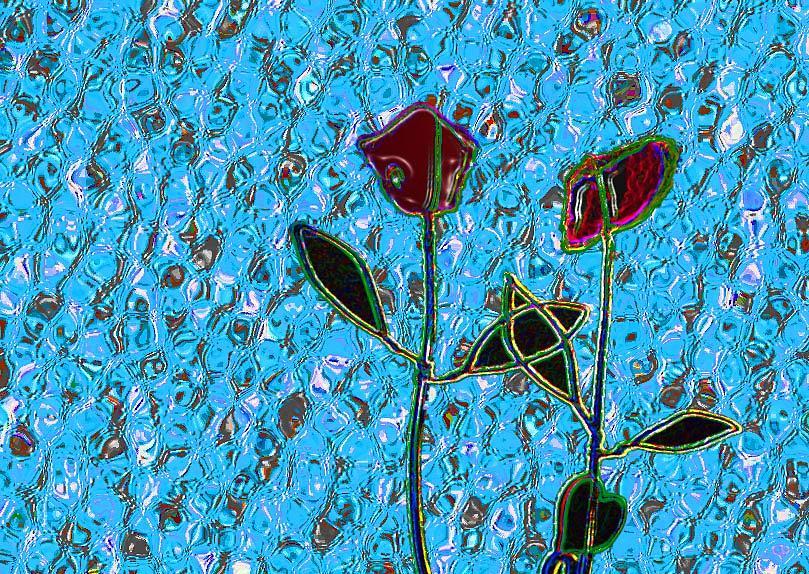 Flower Digital Art - Romancing The Rose by Morgan Rex