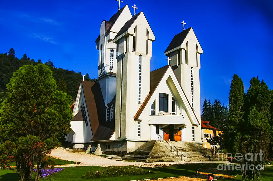 Romanian Church Photograph by Rick Bragan