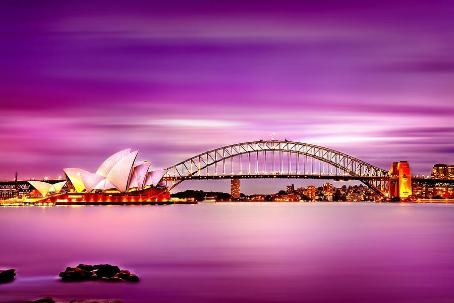 Romantic Harbour Photograph