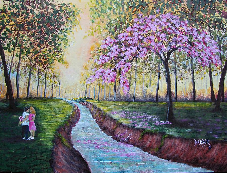 Romantic Moment by Gloria E Barreto-Rodriguez
